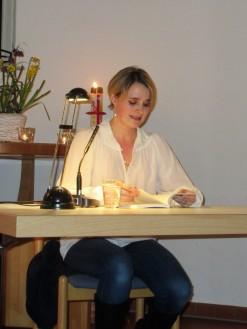 Annika Kemmeters Lesung in Bermbach