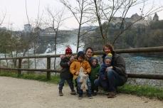 Am Rheinfall von Schaffhausen