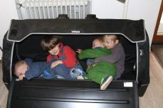 4 Kinder im Gepäck